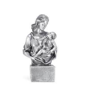 Figura Caricia bañada en plata. - REF. 1013P