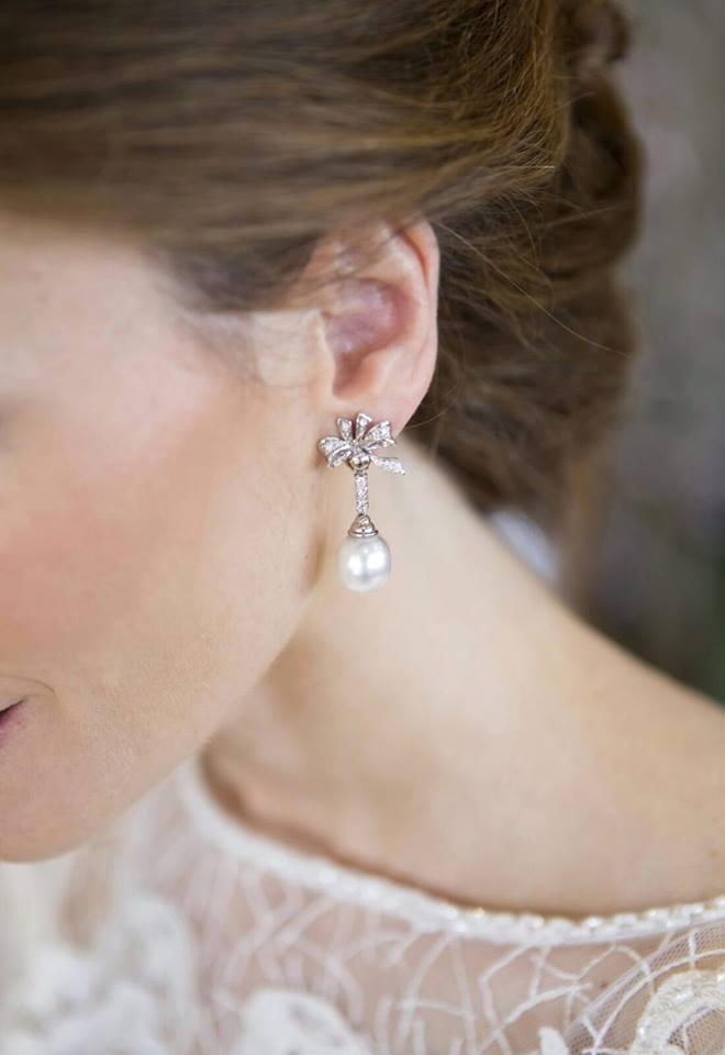 Pendientes y joyas para boda